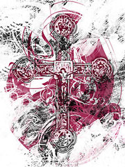 Blood on the Cross