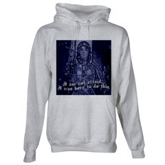 Joan of Arc Hooded Sweatshirt