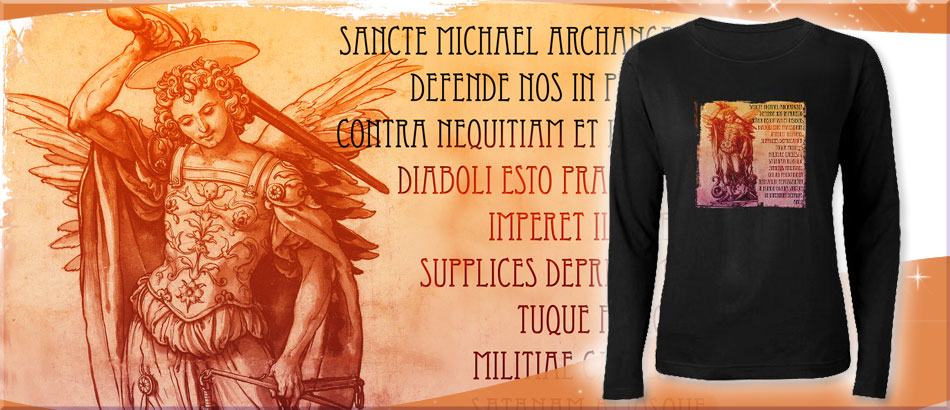St. Michael (Prayer in Latin)