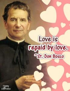 St. Don Bosco Valentine eCard
