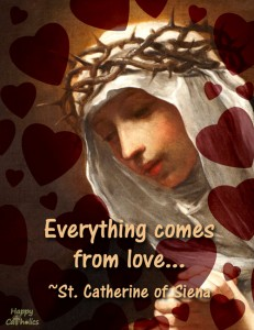 St. Catherine Valentine eCard