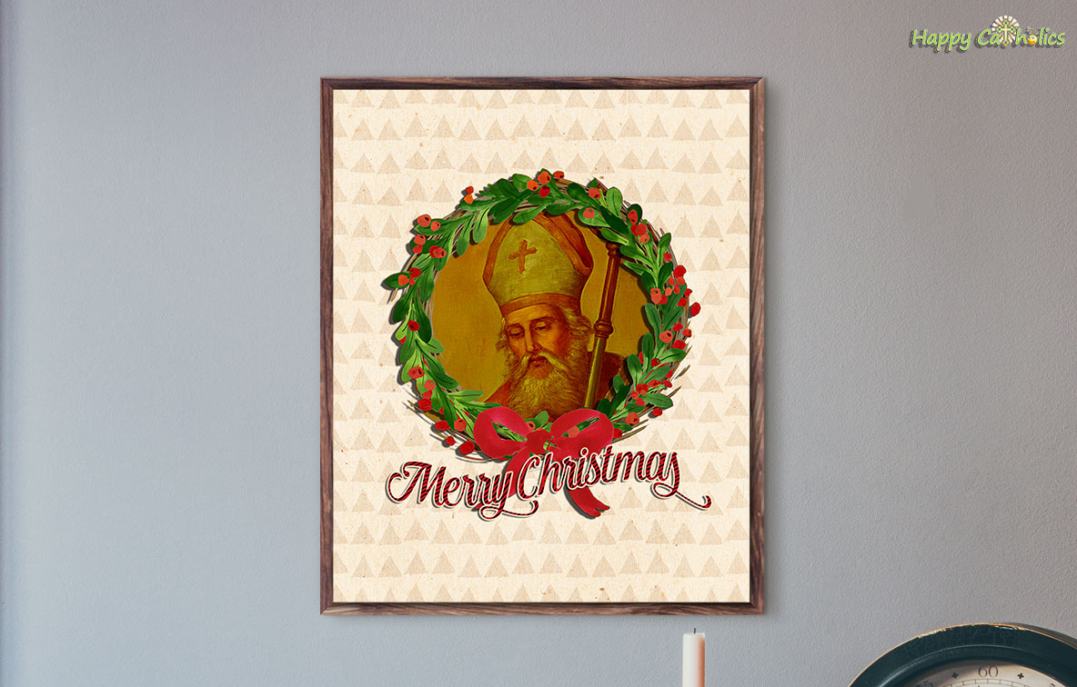 Saint Nicholas Merry Christmas